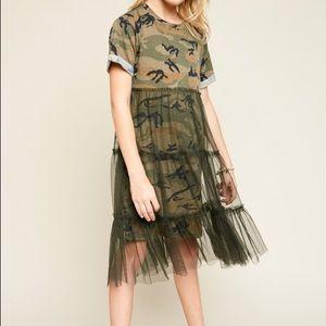 Stylish Camoflauge dress